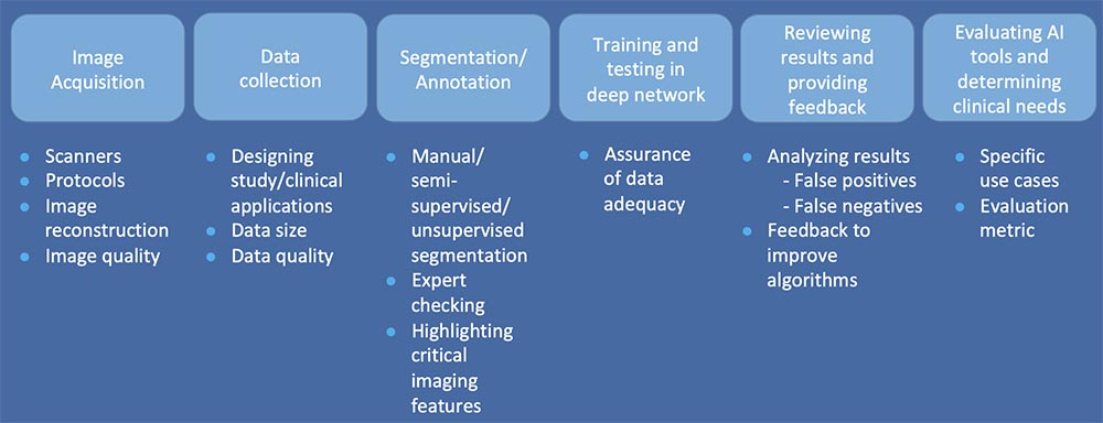 Roles of Radiologists in Development of DL algorithms